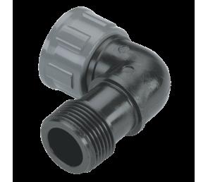 """GARDENA Sprinklersystem - kolano do zaworu GW 1 x 1"""" i GZ 1 x 1"""""""
