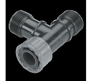"""GARDENA Sprinklersystem - trójnik do zaworu  GW 1 x 1"""" i GZ 2 x 1"""""""