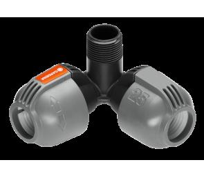 """GARDENA Sprinklersystem - rozdzielacz narożny 25 mm x 3/4"""" - GZ"""