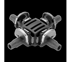 """GARDENA Micro-Drip-System - czwórnik 4,6 mm (3/16"""") 10 szt."""