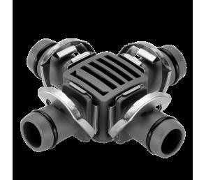 """GARDENA Micro-Drip-System - czwórnik 13 mm (1/2"""") 2 szt."""