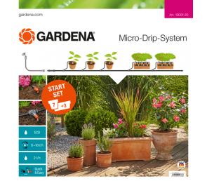 GARDENA Micro-Drip-System - zestaw podstawowy M do roślin doniczkowych