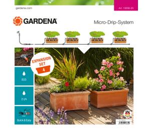 GARDENA Micro-Drip-System - zestaw do rozbudowy nawadniania skrzynek balkonowych