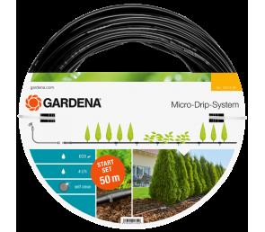 GARDENA Micro-Drip-System - linia kroplująca do rzędów roślin - zestaw L
