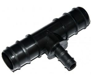 Trójnik wciskany redukcyjny 32-16-32