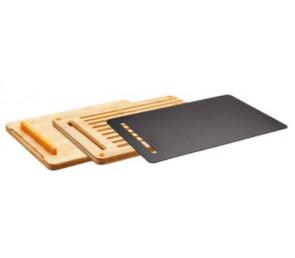 FISKARS Bambusowy zestaw desek do krojenia