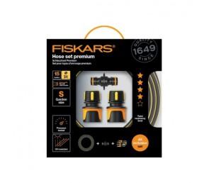 """FISKARS Zestaw z wężem ogrodowym Premium, 9 mm (3/8""""), 15 m - Q4"""