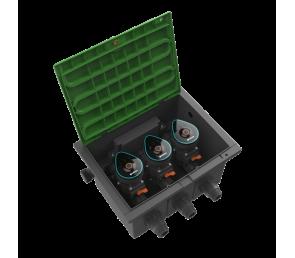 GARDENA Skrzynka na zawory 9 V Bluetooth - zestaw
