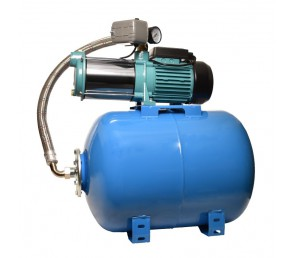 Hydrofor MH 1300INOX PREMIUM 400V na zbiorniku 50L poziom AQUASYSTEM