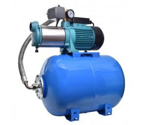 Hydrofor MH 1800INOX PREMIUM 230V na zbiorniku 80L poziom AQUASYSTEM