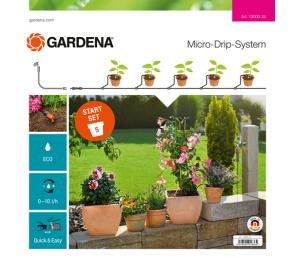 GARDENA Micro-Drip-System - zestaw podstawowy S do roślin doniczkowych