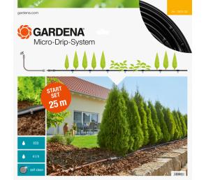 GARDENA Micro-Drip-System - linia kroplująca do rzędów roślin - zestaw M