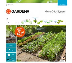 GARDENA Micro-Drip-System - zestaw podstawowy na grządki i rabaty